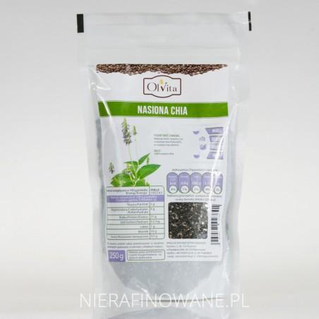 Nasiona Chia - Szałwii Hiszpańskiej, Ol'Vita 250 g