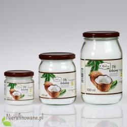 Olej kokosowy - zimno tłoczony, nieoczyszczony Ol'Vita - 0.2, 0.45 i 0.9 l