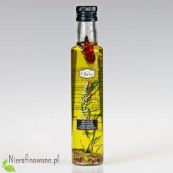 Olej Ziołowy Czosnkowy, zimnotłoczony, nieoczyszczony - Ol'Vita