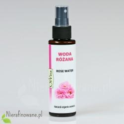 Woda Kwiatowa Różana, Organiczna, Hydrolat Ol'Vita 100 ml