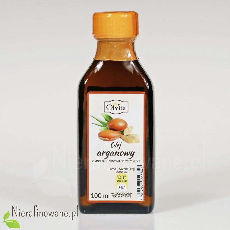 Olej arganowy zimnotłoczony 100 ml