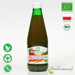 Sok Marchwiowo-Jabłkowy, ekologiczny, NFC, Biofood