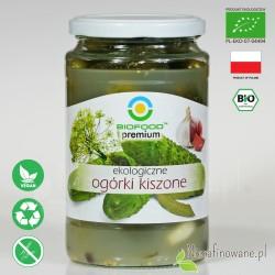 Ogórki Kiszone, ekologiczne, Biofood