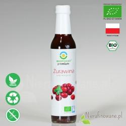 Syrop Żurawinowy, ekologiczny, Biofood