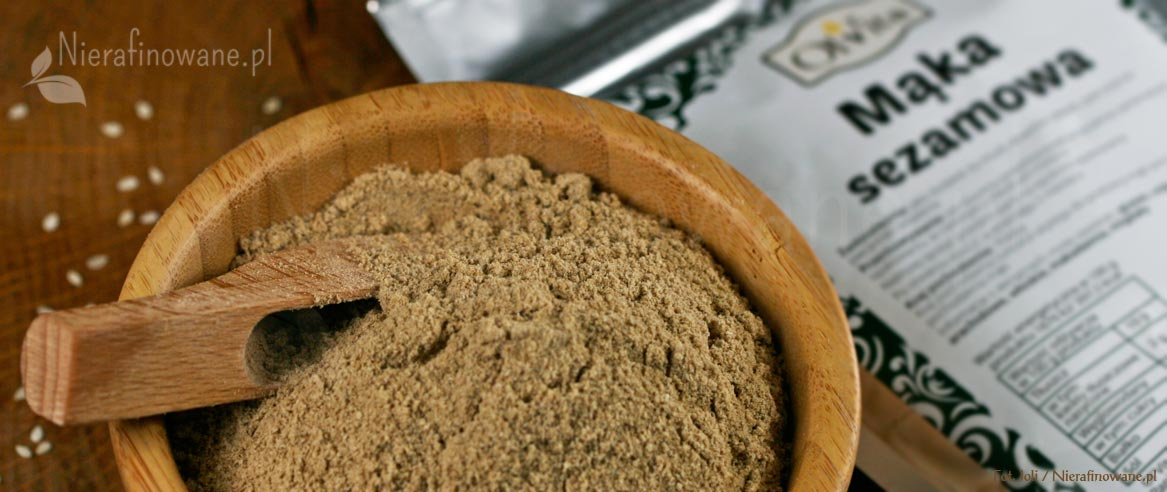 mąka sezamowa