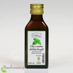 Olej z nasion słodkiej bazylii 100 ml