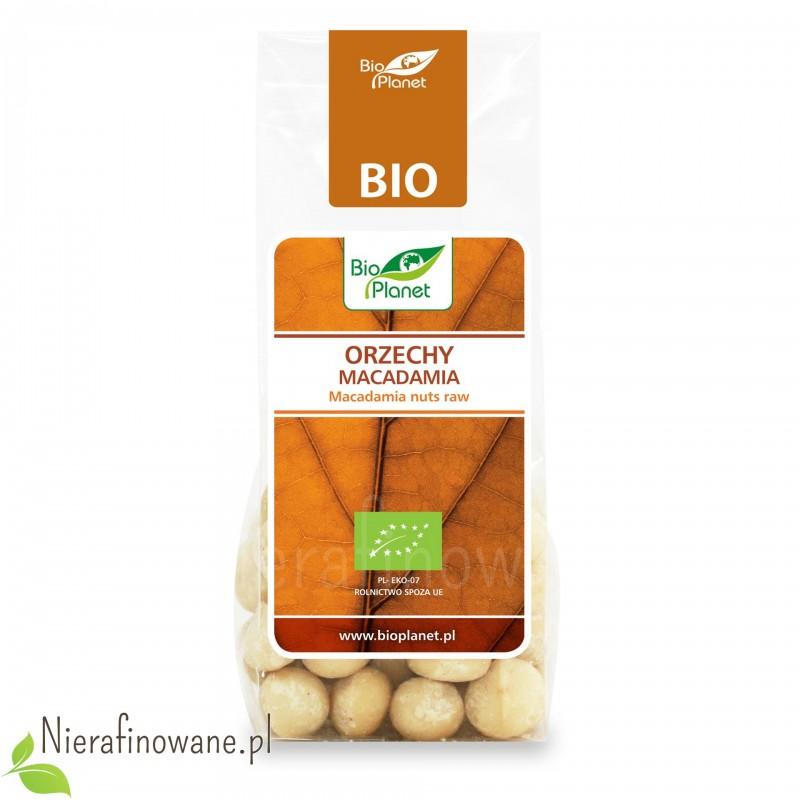 Orzechy Macadamia ekologiczne, Bio Planet 75 g
