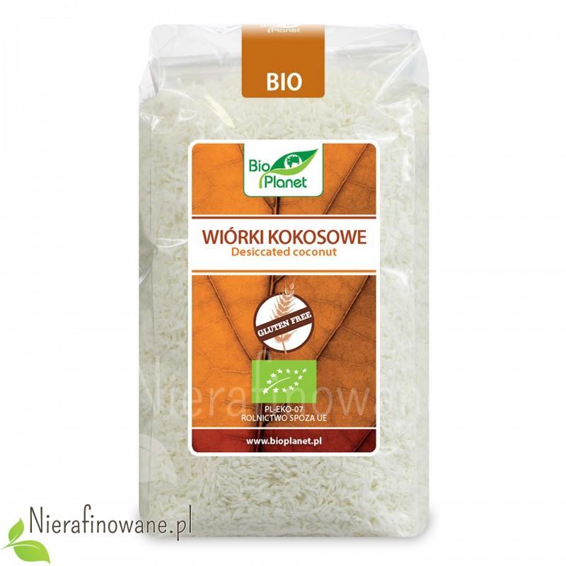 Wiórki kokosowe ekologiczne, Bio Planet 200 g