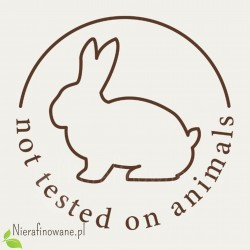 Produkt nie testowany na zwierzętach
