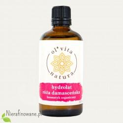 Hydrolat - woda kwiatowa z róży damasceńskiej