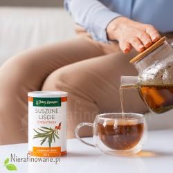 Herbata z liści rokitnika