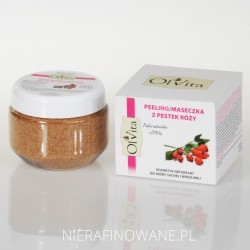 Peeling Kosmetyczny / Maseczka z Pestek Róży Ol'Vita
