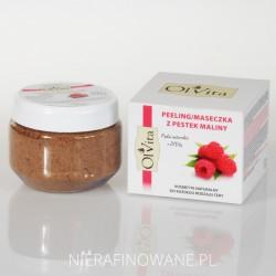 Peeling Kosmetyczny / Maseczka z Pestek Maliny Ol'Vita