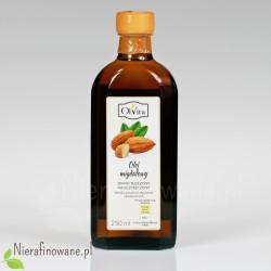 Olej migdałowy zimnotłoczony, nieoczyszczony Ol'Vita 250 ml