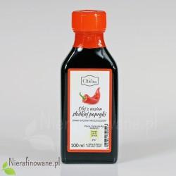 Olej z nasion papryki zimnotłoczony, nieoczyszczony - Ol'Vita