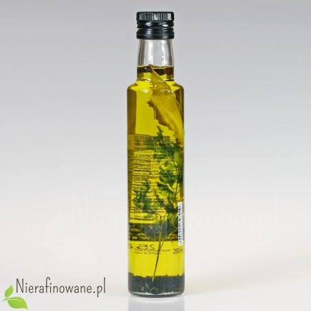 Olej Ziołowy Koperkowy, zimnotłoczony, nieoczyszczony - Ol'Vita