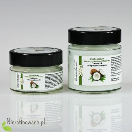 Olej Kokosowy - kosmetyczny, zimnotłoczony Ol'Vita