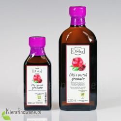 Olej z Pestek Granatu zimnotłoczony, nieoczyszczony - Ol'Vita