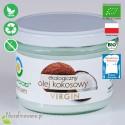 Olej Kokosowy - ekologiczny, nierafinowany, VIRGIN, BioFood - 180 ml