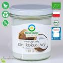 Olej Kokosowy - ekologiczny, nierafinowany, VIRGIN, BioFood - 260 ml