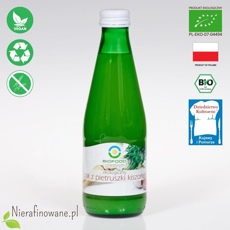 Sok z Pietruszki Kiszonej, ekologiczny, BioFood