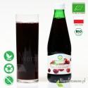 Sok z Żurawiny, ekologiczny, tłoczony - Biofood - propozycja podania