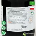 Sok z Granatu, ekologiczny, tłoczony - Biofood - etykieta