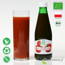 Sok Pomidorowy, ekologiczny, tłoczony - Biofood - propozycja podania