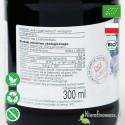 Sok z Winogron Czerwonych, ekologiczny, tłoczony - Biofood - etykieta
