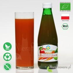 Sok Marchwiowo-Jabłkowy, ekologiczny, NFC, Biofood - propozycja podania