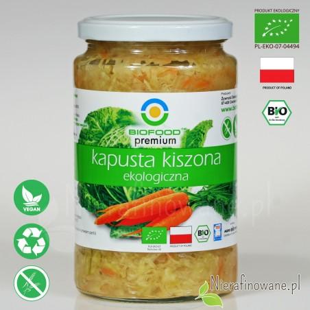 Kapusta Kiszona, ekologiczna, Biofood