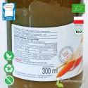 Sok z Marchwi Kiszonej, ekologiczny, BioFood - 300 ml