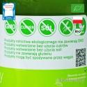 Ocet Jabłkowy - ekologiczny, nieklarowany, BioFood - etykieta