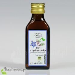 Olej z nasion ogórecznika spożywczy zimnotłoczony, nieoczyszczony - Ol'Vita - 100 ml