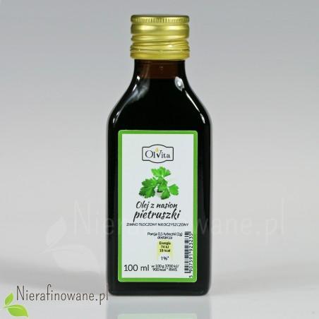 Olej z nasion pietruszki - zimnotłoczony, nieoczyszczony - Ol'Vita