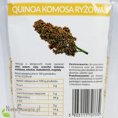 Komosa ryżowa - Quinoa - Ol'Vita - wartości odżywcze