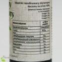 Olej Konopny, zimnotłoczony, Oleje Świecie 250 ml - wartości odżywcze