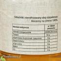 Olej rzepakowy zimnotłoczony Oleje Świecie - wartości odżywcze