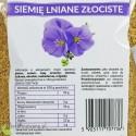 Siemię Lniane Złociste, niemielone - całe ziarna - Ol'Vita - wartości odżywcze