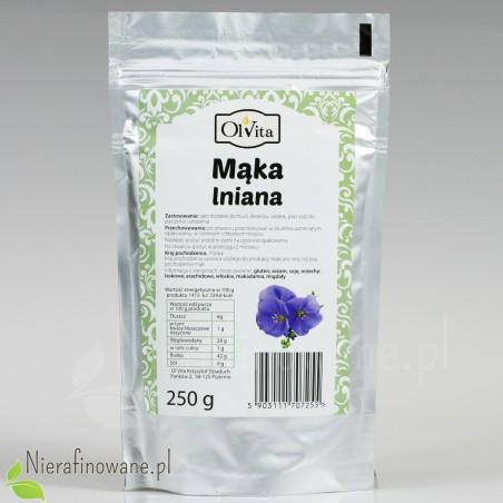 Mąka Lniana - Ol'Vita 250 g
