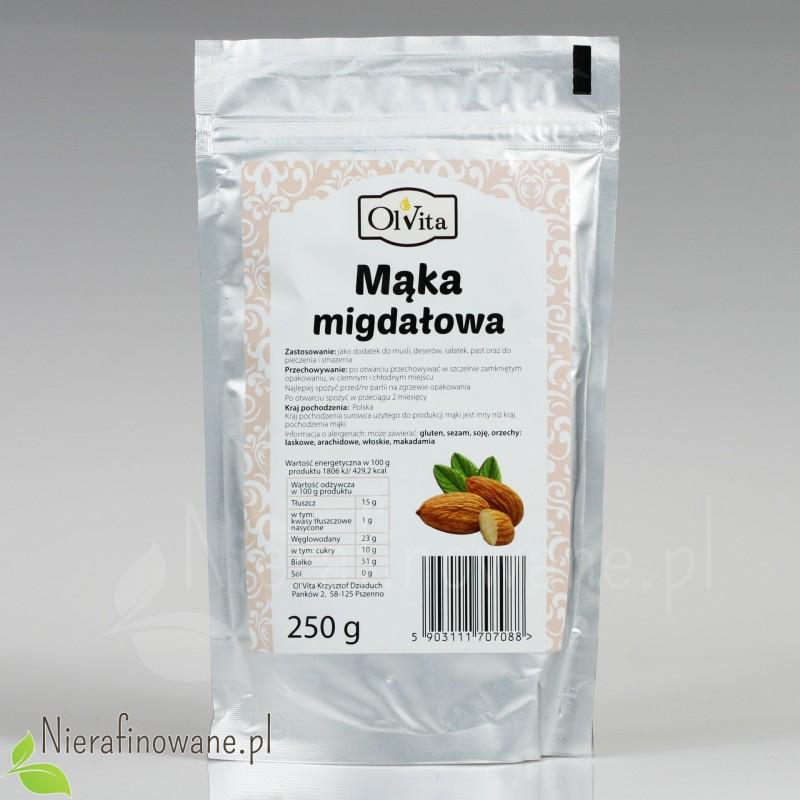 Mąka Migdałowa Premium - Ol'Vita 250 g