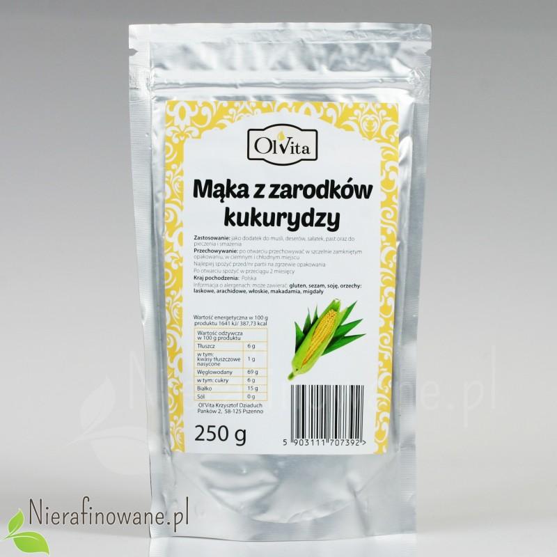 Mąka z Zarodków Kukurydzy - Ol'Vita 250g