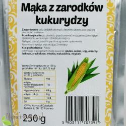 Mąka z Zarodków Kukurydzy - wartości odżywcze
