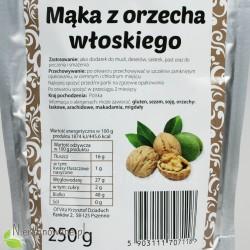 Mąka z Orzecha Włoskiego - wartości odżywcze