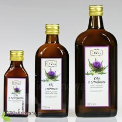 Olej z ostropestu zimnotłoczony nieoczyszczony Ol'Vita