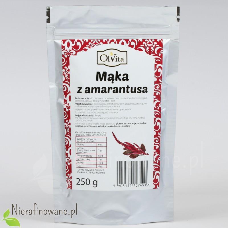 Mąka Amarantusowa - Ol'Vita 250 g