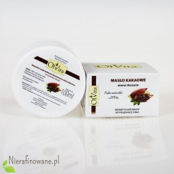Masło kakaowe zimnotłoczone Ol'Vita - 100 ml