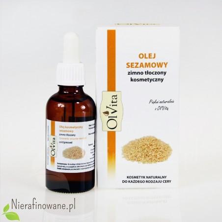 Olej sezamowy zimnotłoczony Ol'Vita - 50 ml