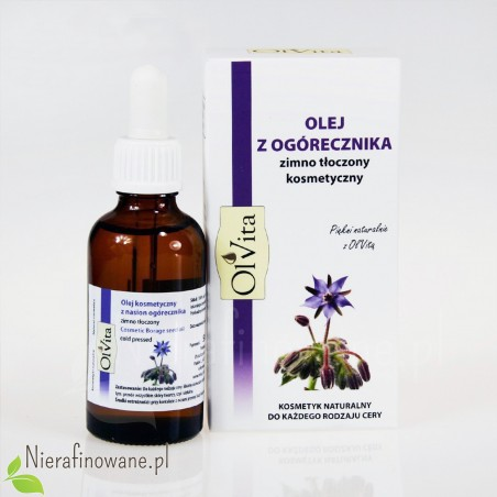 Olej z ogórecznika zimnotłoczony Ol'Vita - 50 ml