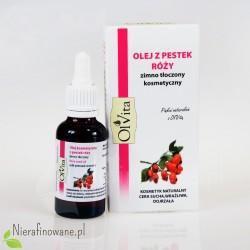 Olej z pestek róży zimnotłoczony Ol'Vita - 30 ml